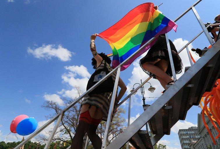 """2019 eitynės """"Už lygybę!"""" (nuotr. Broniaus Jablonsko)"""