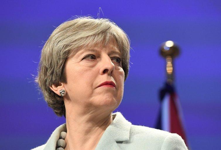 Theresa May (nuotr. SCANPIX)