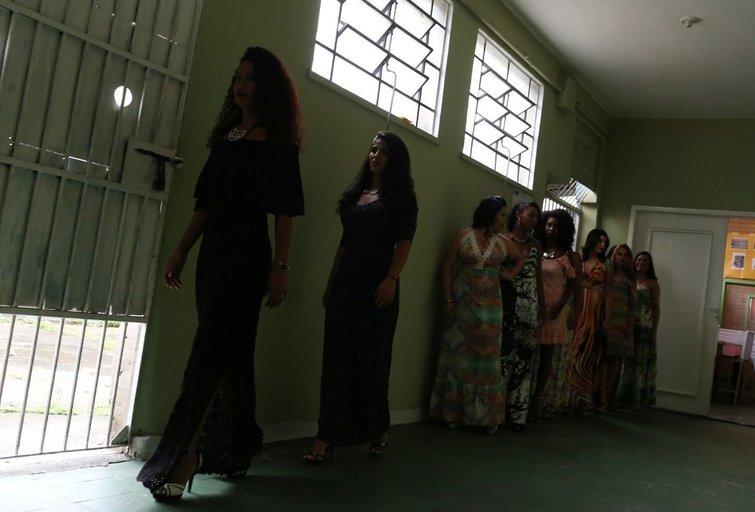 Brazilijos kalėjimo grožio konkursas (nuotr. SCANPIX)