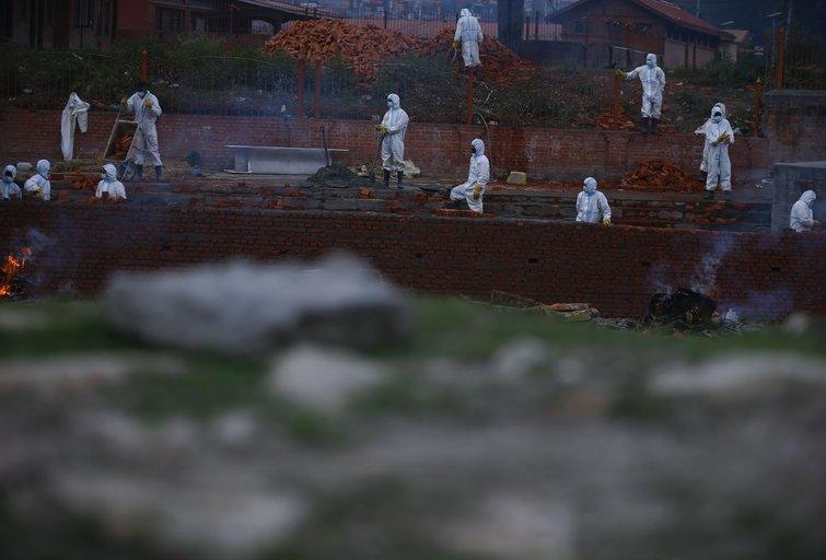 Krematoriumas Nepale (nuotr. SCANPIX)