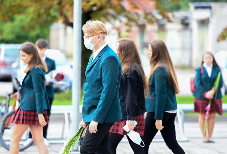 Lietuvoje švenčiama rugsėjo 1-oji (nuotr. Fotodiena.lt)
