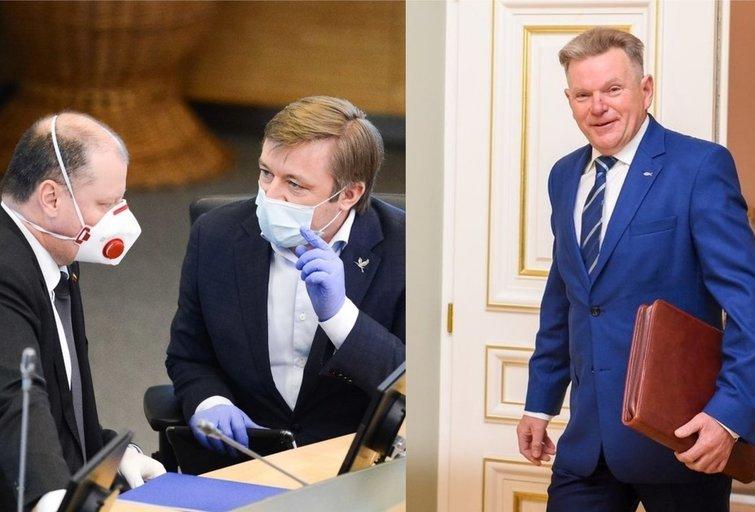 Narkevičius, Skvernelis, Karbauskis (tv3.lt fotomontažas)