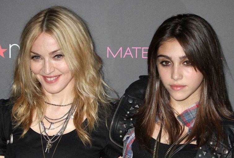 Madonna ir Lourdes Leon (nuotr. SCANPIX)