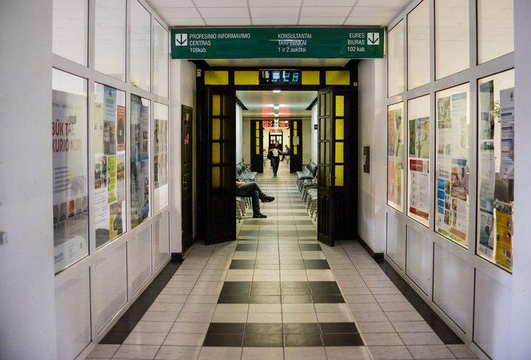 Darbo birža (nuotr. Fotodiena/Justino Auškelio)