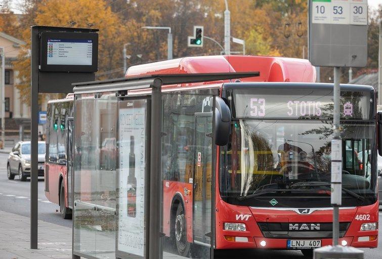 Viešasis transportas (nuotr. vilniustransport.lt)