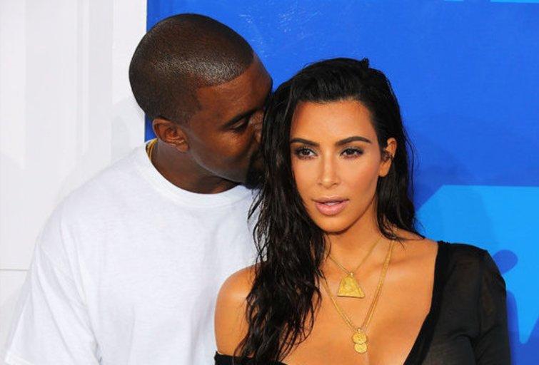 Kanye Westas ir Kim Kardashian (nuotr. Vida Press)