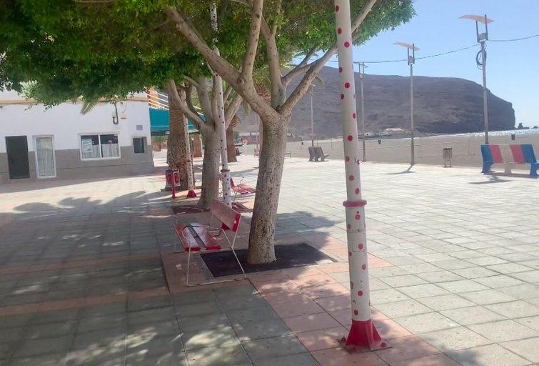 Fuerteventūros gatvės (nuotr. stop kadras)