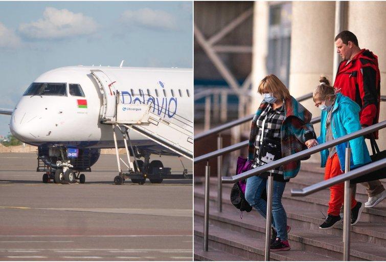 """Iš atostogų grįžusią vilnietę pribloškė Vilniaus oro uosto tvarka: """"Taip platiname virusą toliau"""" (tv3.lt fotomontažas)"""
