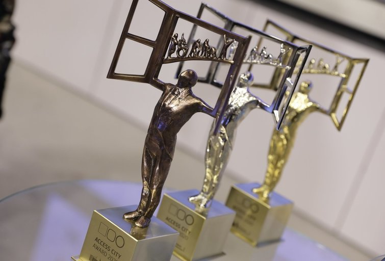 2020 m. geriausiai visiems pritaikyto Europos miesto apdovanojimų akimirkos. Europos Komisijos archyvo nuotr.