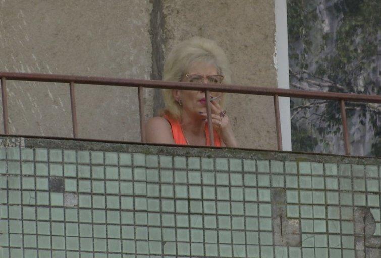Rūkymas (nuotr. stop kadras)