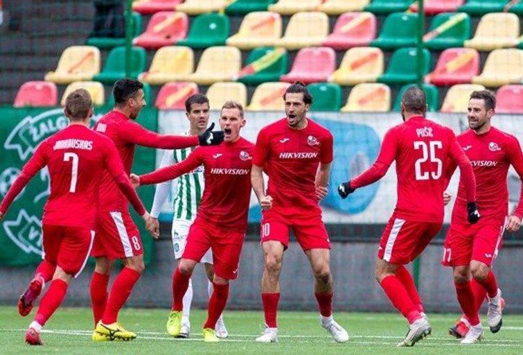 Marijampoliečiai žengė į finalą. (nuotr. LFF.lt)