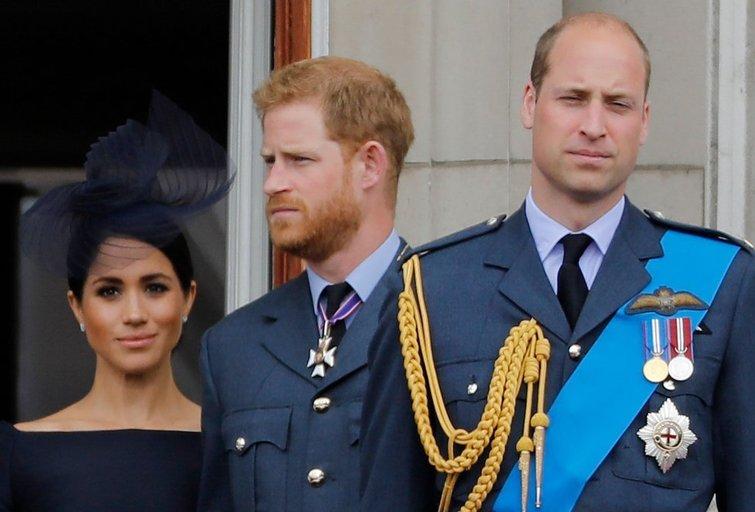 Meghan Markle, Harry ir princas  Williamas (nuotr. SCANPIX)