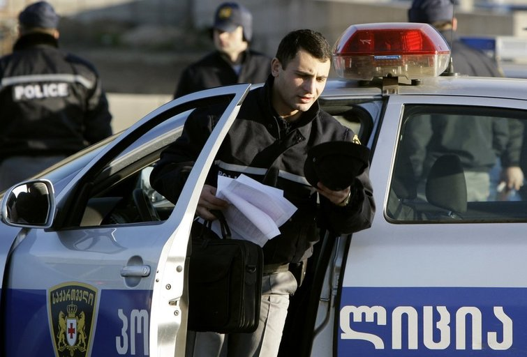 Sakartvelo policija (nuotr. SCANPIX)