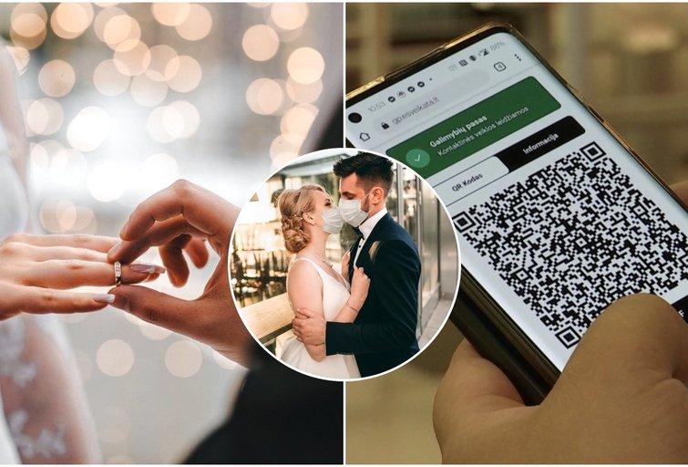 Žinia dėl vestuvių: be galimybių pasų didelę šventę teks pamiršti (tv3.lt fotomontažas)