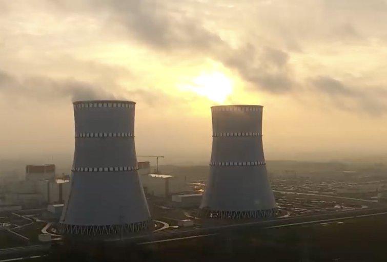 Astravo elektrą sumokėjome 16 mln. eurų – kaltinama ir Latvija (nuotr. stop kadras)