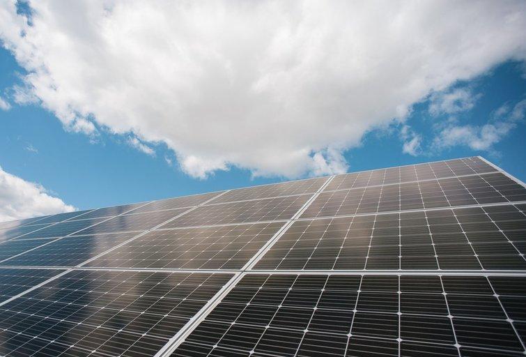 saulės elektrinė (nuotr. SCANPIX)