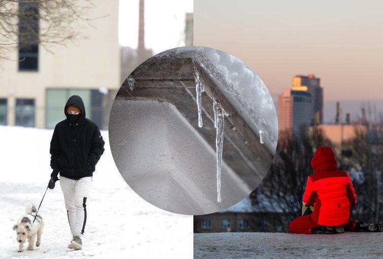 šaltis grįžta (tv3.lt fotomontažas)
