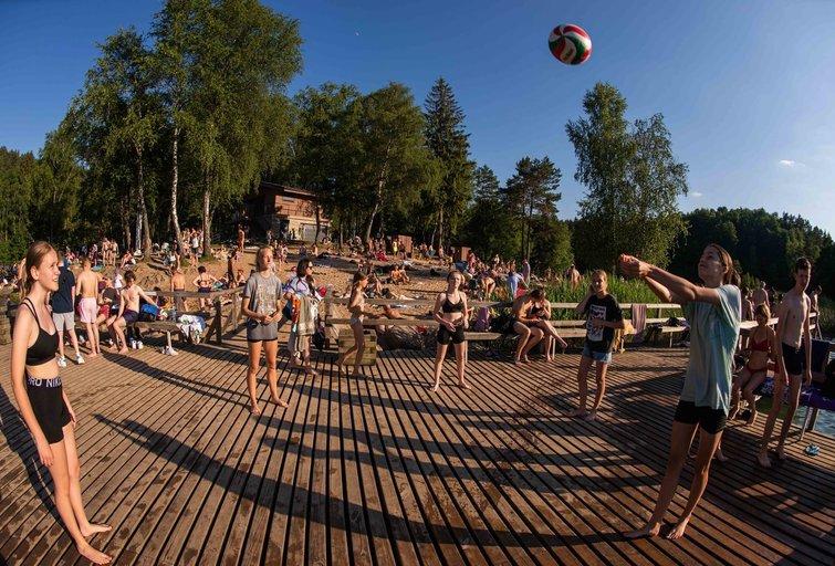 Karštis užklupo Lietuvą  (nuotr. Fotodiena/Justino Auškelio)