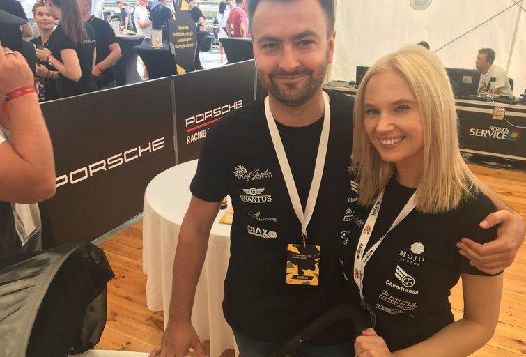 Monika Pitkauskaitė ir Dainius Matijošaitis su sūnumi (nuotr. TV3)