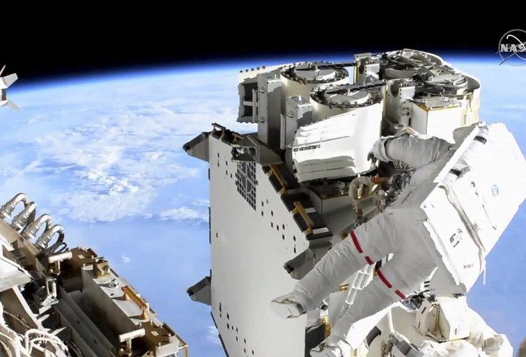 EKA astronautas, prancūzas Thomas Pesquet  (nuotr. SCANPIX)