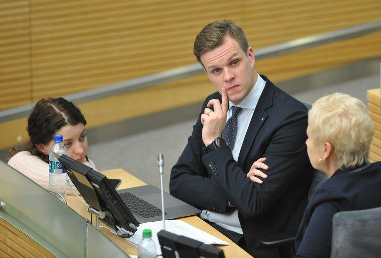 Tėvynės sąjungos - Lietuvos krikščionių demokratų partijos pirmininkas Gabrielius Landsbergis (nuotr. Fotodiena.lt)