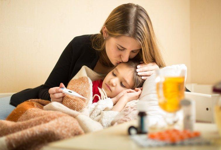 Sergantis vaikas (nuotr. Shutterstock.com)