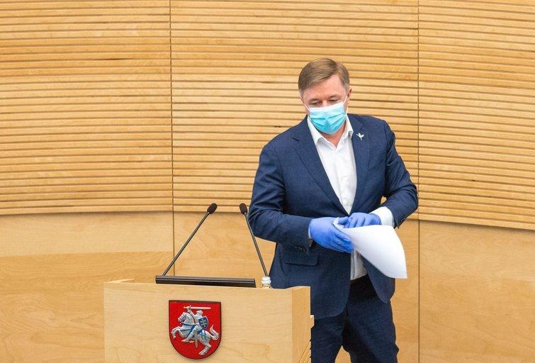 Ramūnas Karbauskis (nuotr. Fotodiena/Justino Auškelio)