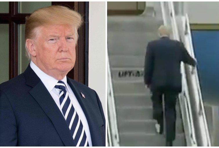 Donaldas Trumpas (tv3.lt fotomontažas)