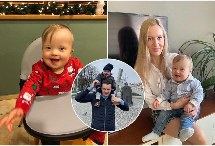 Kauniečių šeimai gyvenimas atsiuntė ypatingą vaiką: sūnaus gimimas išmokė džiaugtis šia diena (tv3.lt fotomontažas)