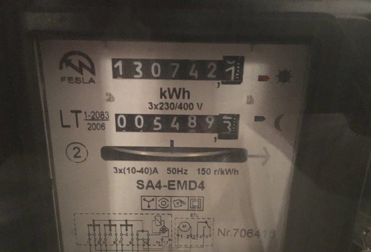 Naujus elektros skaitiklius diegs prancūzų bendrovė (nuotr. tv3.lt)