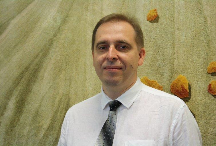 Aplinkos ministerijos Statybos ir teritorijų planavimo politikos grupės vyresnysis patarėjas Dangyras Žukauskas. Asmeninio archyvo nuotr.