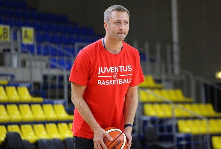 """V. Ginevičius. (nuotr. BC Utenos """"Juventus"""")"""