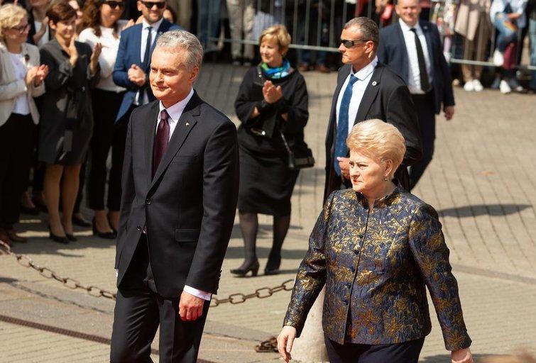 G. Nausėda ir D. Grybauskaitė (Greta Skaraitienė/Fotobankas)