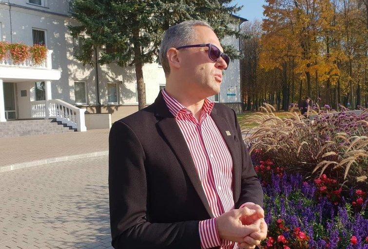 Netradicinės orientacijos Šakių merui - kaltinimai priekabiavimu (nuotr. Raimundo Maslausko)