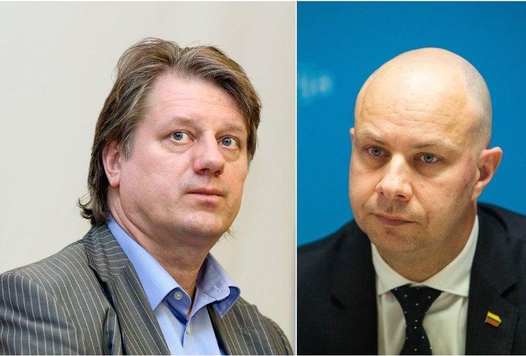S. Čaplinskas ir A. Veryga (tv3.lt fotomontažas)