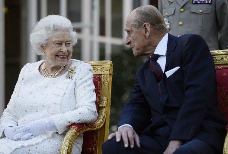 Karalienė Elizabeth II ir princas Philip (nuotr. SCANPIX)