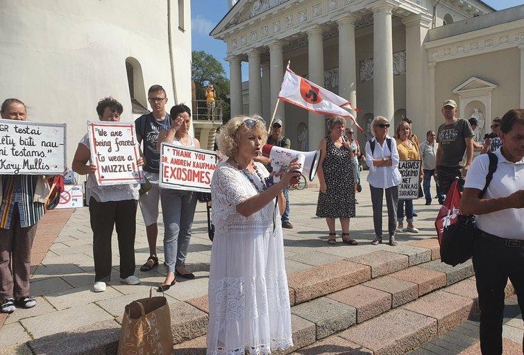 Eitynės Vilniuje (nuotr. Broniaus Jablonsko)