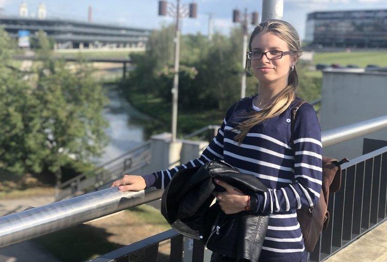 Sigita Varanauskaitė prieš transplantaciją. Ievos Meškauskaitės nuotr.