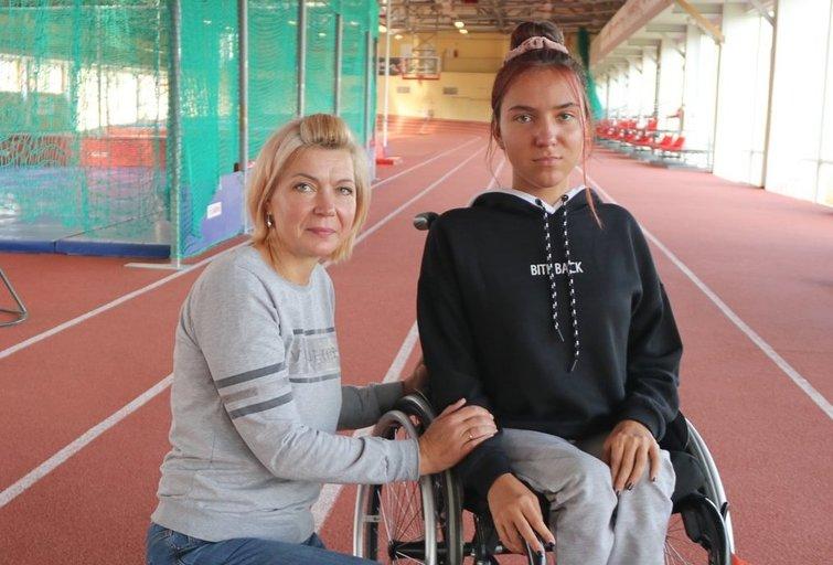 Rita Bitinienė su dukra Gabriele. Sigitos Inčiūrienės nuotr.