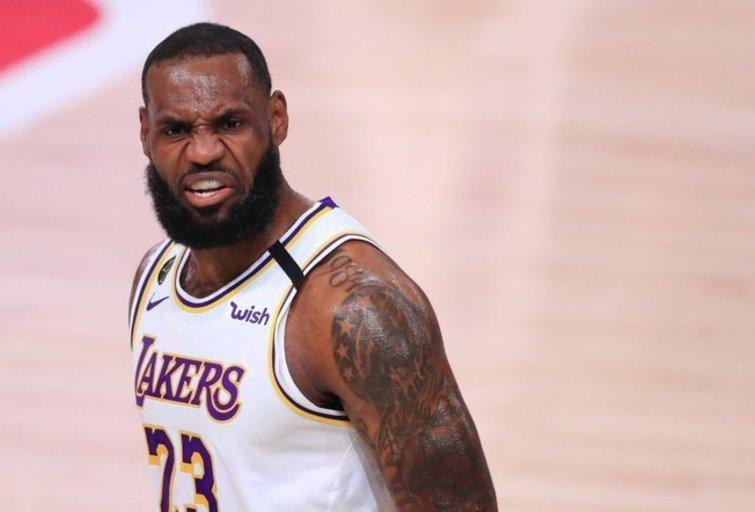 LeBron James (nuotr. SCANPIX)