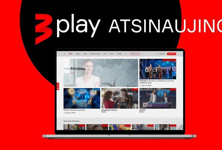 TV3 Play atsinaujino (nuotr. tv3.lt)