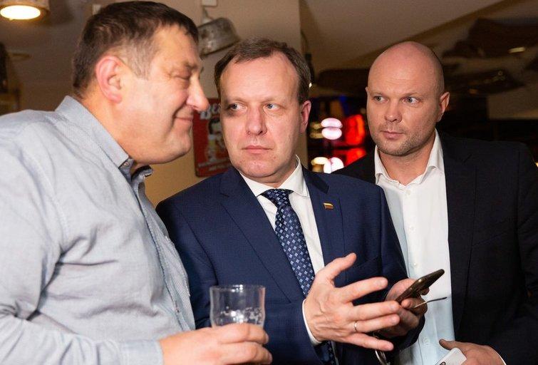 Kristupas Krivickas ir Naglis Puteikis (Greta Skaraitienė/Fotobankas)