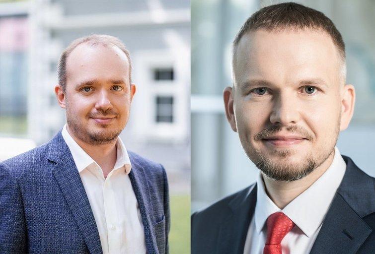 L. Gudžinskas ir V. Navickas. (tv3.lt fotomontažas)
