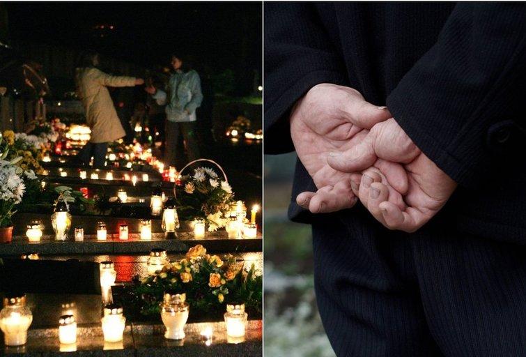 Apsilankymas kapinėse (nuotr. 123rf.com)