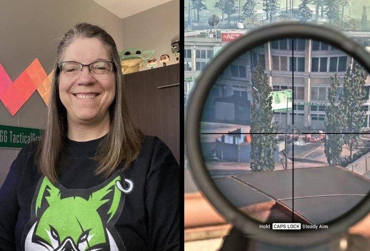 Su snaiperiu varžovus naikinanti 58-erių močiutė — nauja kompiuterinių žaidimų žvaigždė