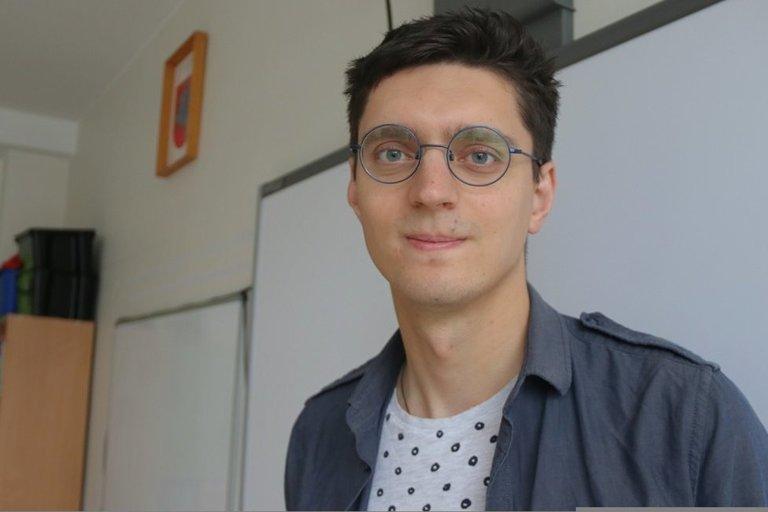 Šilo mokyklos etikos mokytojas Artūras Adamas Markevičius. Sigitos Inčiūrienės nuotr.