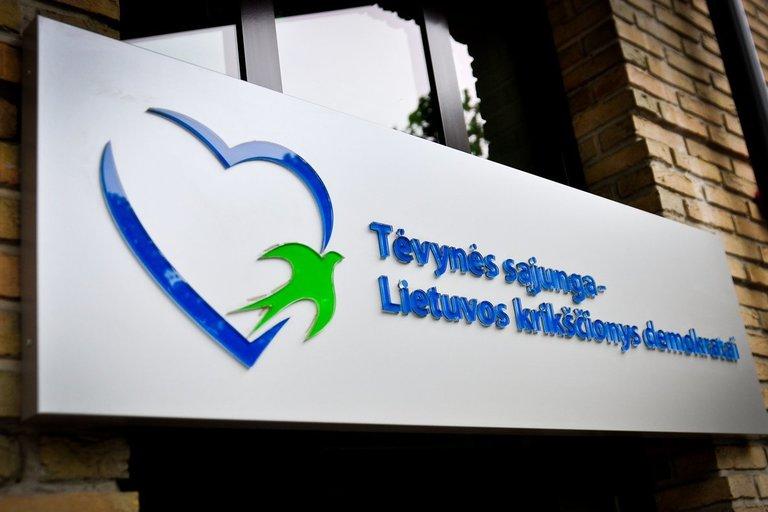 Tėvynės sąjungos - Lietuvos krikščionių demokratų, konservatorių būstinė (nuotr. Fotodiena.lt)