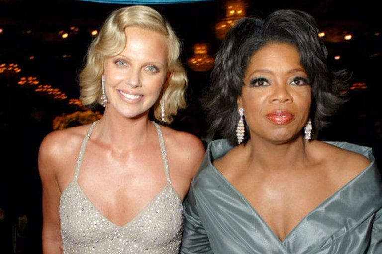 Charlize Theron, Oprah Winfrey (nuotr. Vida Press)