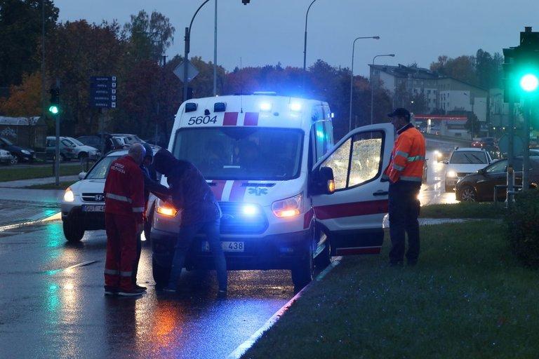 Nelaimė Vilniuje – partrenktas mažametis vaikas (nuotr. tv3.lt)