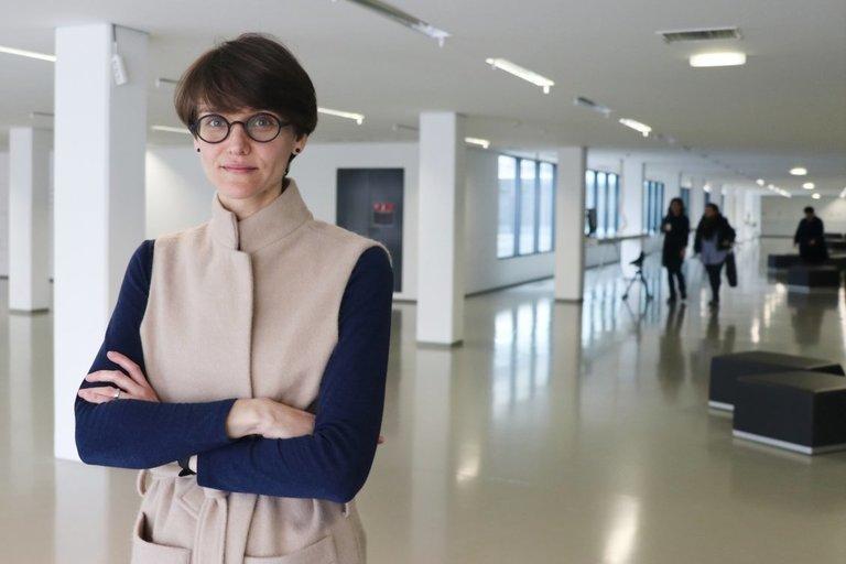 LNF komunikacijos projektų vadovė Simona Aginskaitė. (Sigitos Inčiūrienės nuotr.)